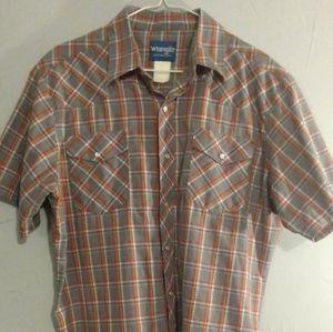 Vintage Wrangler Button-Up Shirt